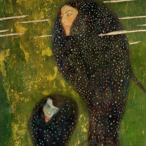 Mermaids (Detail) , c.1899 | Klimt | Giclée Canvas Print