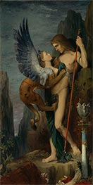 Gustave Moreau | Oedipus and the Sphinx, 1864 | Giclée Canvas Print