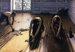 Caillebotte   The Floor Scrapers, 1875   Giclée Canvas Print