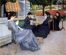Caillebotte   Portraits in the Countryside, 1876   Giclée Canvas Print