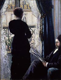 Caillebotte   Interior, Woman at the Window, 1880   Giclée Canvas Print