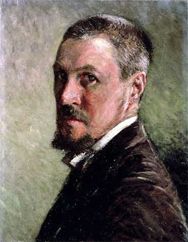 Self Portrait, undated   Caillebotte   Painting Reproduction