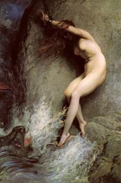Gustave Dore | Andromeda, 1869 | Giclée Canvas Print