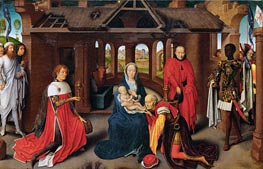Hans Memling | The Adoration of the Magi, c.1470/72 | Giclée Canvas Print