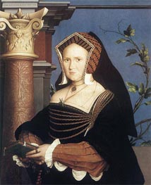 Hans Holbein | Portrait of Lady Mary Guildford | Giclée Canvas Print