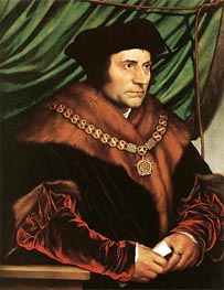 Hans Holbein | Portrait of Sir Thomas More | Giclée Canvas Print
