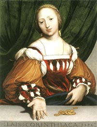 Hans Holbein | Lais of Corinth | Giclée Canvas Print