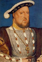 Hans Holbein | Portrait of Henry VIII | Giclée Canvas Print