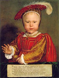 Hans Holbein | Portrait of Edward, Prince of Wales | Giclée Canvas Print