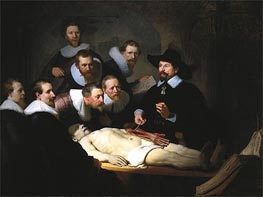 Rembrandt | The Anatomy Lecture of Dr. Nicolaes Tulp | Giclée Canvas Print