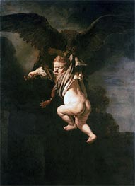 Rembrandt | Rape of Ganymede | Giclée Canvas Print