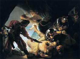 Rembrandt | The Blinding of Samson | Giclée Canvas Print