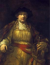 Rembrandt | Self Portrait, 1658 | Giclée Canvas Print