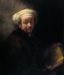 Rembrandt | Self Portrait as Apostle Paul, 1661 | Giclée Canvas Print