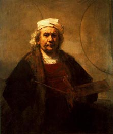 Rembrandt | Self Portrait, c.1661 | Giclée Canvas Print