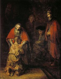Rembrandt | The Return of the Prodigal Son, c.1668 | Giclée Canvas Print