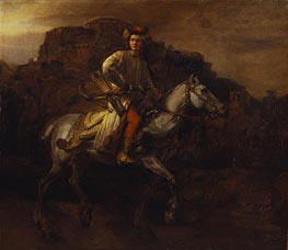 Rembrandt | The Polish Rider, c.1655 | Giclée Canvas Print