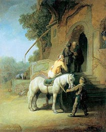 Rembrandt | The Good Samaritan, 1630 | Giclée Canvas Print