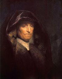 Rembrandt | An Old Woman (The Artist's Mother), c.1629 | Giclée Canvas Print