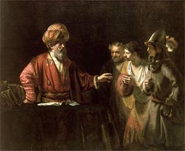 Rembrandt | The Centurion Cornelius (The Unmerciful Servant), c.1660 | Giclée Canvas Print