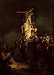 Rembrandt | Descent from the Cross, 1634 | Giclée Canvas Print