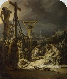 Rembrandt | The Lamentation over the Dead Christ | Giclée Canvas Print