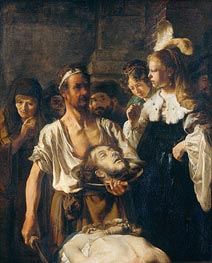 Rembrandt | The Beheading of John the Baptist | Giclée Canvas Print