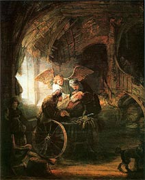 Rembrandt | Tobias Cured With His Son | Giclée Canvas Print