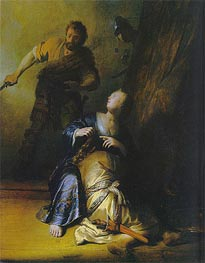 Rembrandt | Samson and Delilah | Giclée Canvas Print