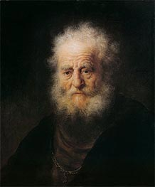 Rembrandt | Portrait of an Old Man | Giclée Canvas Print