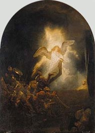 Rembrandt | Resurrection of Christ | Giclée Canvas Print