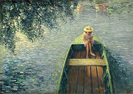 Henri Lebasque | A Boat on the Marne | Giclée Canvas Print