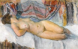 Henri Lebasque | Nude Lying | Giclée Canvas Print