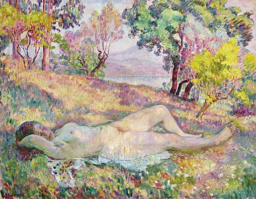 The Resting in Saint-Tropez, 1906 | Henri Lebasque | Giclée Canvas Print