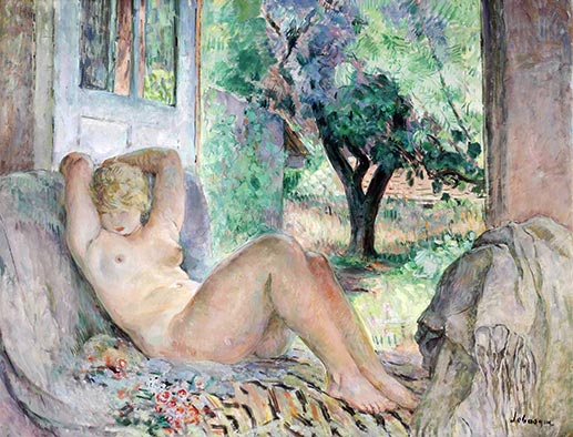 Henri Lebasque | Grand Nude (Marinette), 1934 | Giclée Canvas Print