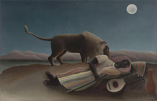 The Sleeping Gypsy, 1897 | Henri Rousseau | Giclée Canvas Print