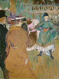 Toulouse-Lautrec | Quadrille at the Moulin Rouge | Giclée Canvas Print