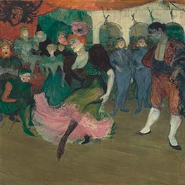 Toulouse-Lautrec | Marcelle Lender Dancing the Bolero in Chilperic | Giclée Canvas Print