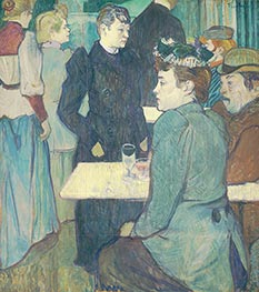 Toulouse-Lautrec | A Corner of the Moulin de la Galette | Giclée Canvas Print