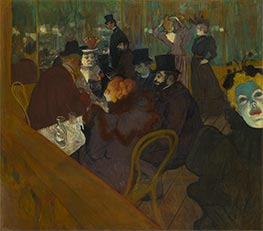 Toulouse-Lautrec | At the Moulin Rouge | Giclée Canvas Print