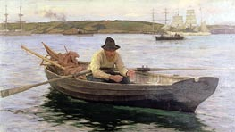 Tuke | The Fisherman | Giclée Canvas Print