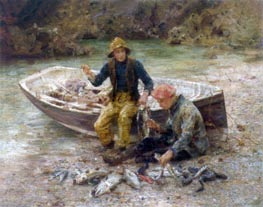 Tuke | The Good Catch | Giclée Canvas Print