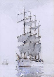 Tuke | Four-Masted Barque | Giclée Canvas Print