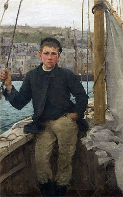 Our Jack, 1886 | Tuke | Giclée Canvas Print