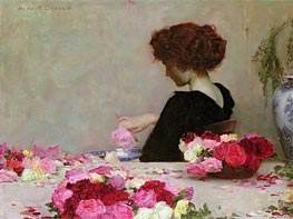 Herbert James Draper | Pot Pourri, 1897 | Giclée Canvas Print