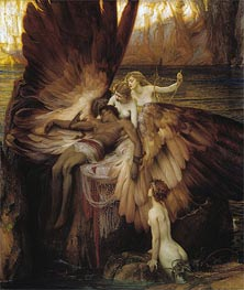 Herbert James Draper | The Lament for Icarus, 1898 | Giclée Canvas Print