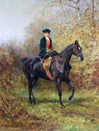 Heywood Hardy | The Morning Ride | Giclée Canvas Print