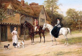 Heywood Hardy | The Gamekeeper's Daughter | Giclée Canvas Print