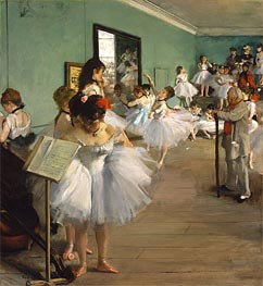 Degas | The Dance Class | Giclée Canvas Print