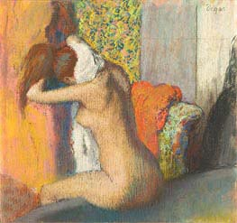 Degas   After the Bath, Woman Drying her Neck   Giclée Canvas Print